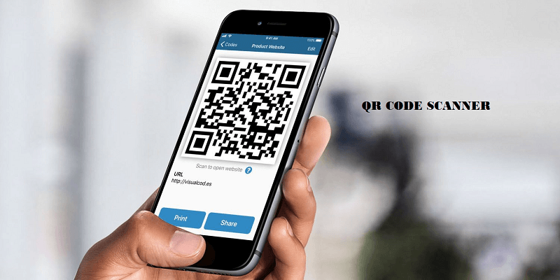 how to open qr code scanner on iphone