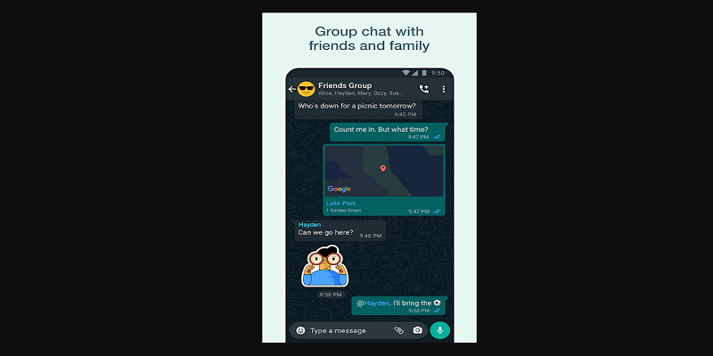 how to change whatsapp group icon